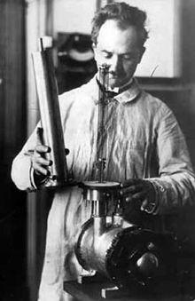 Fernand Holweck, ingénieur de l'ESPCI de Paris