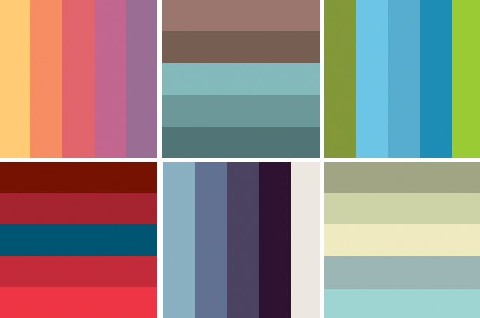 Color palette ideas color schemes for wedding source for Wedding color scheme ideas