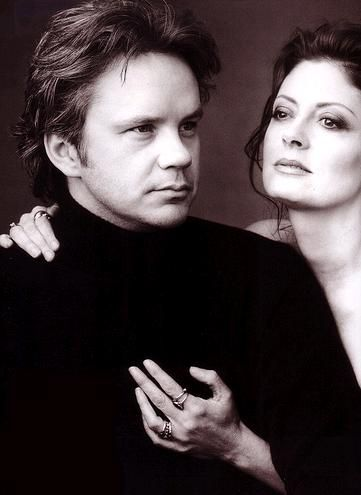 Tim Robbins and Susan Sarandon  I think this is a great photo, wonder who did it?