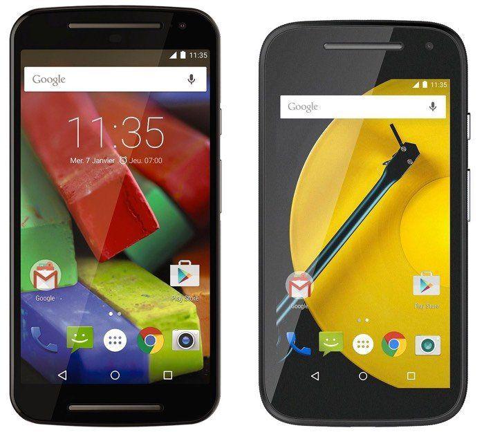 Los mejores smartphones Android por calidad precio de 2015: Moto G (2015) y Moto E (2015)