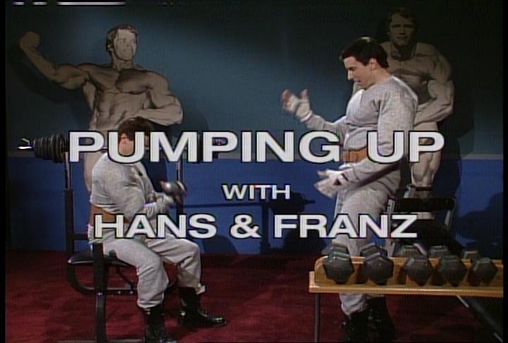 Hans and franz original snl celebrity