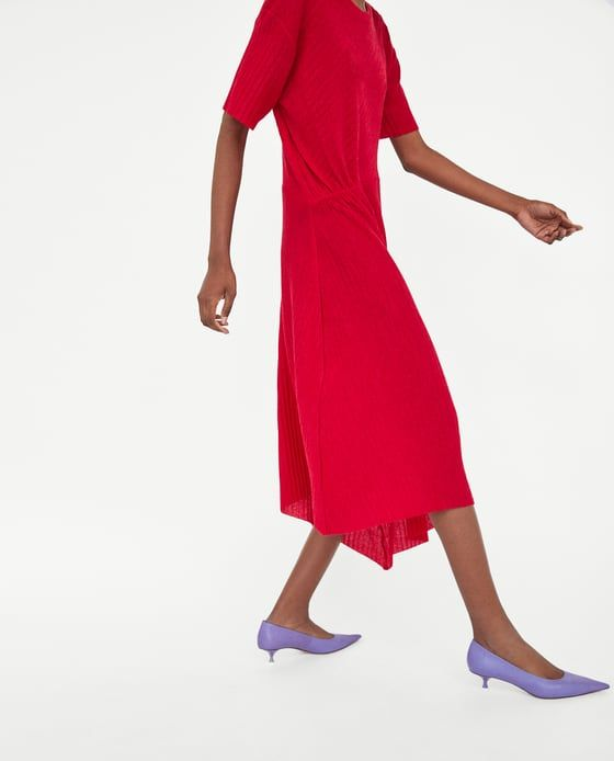 Image 4 of PLEATED DRESS from Zara