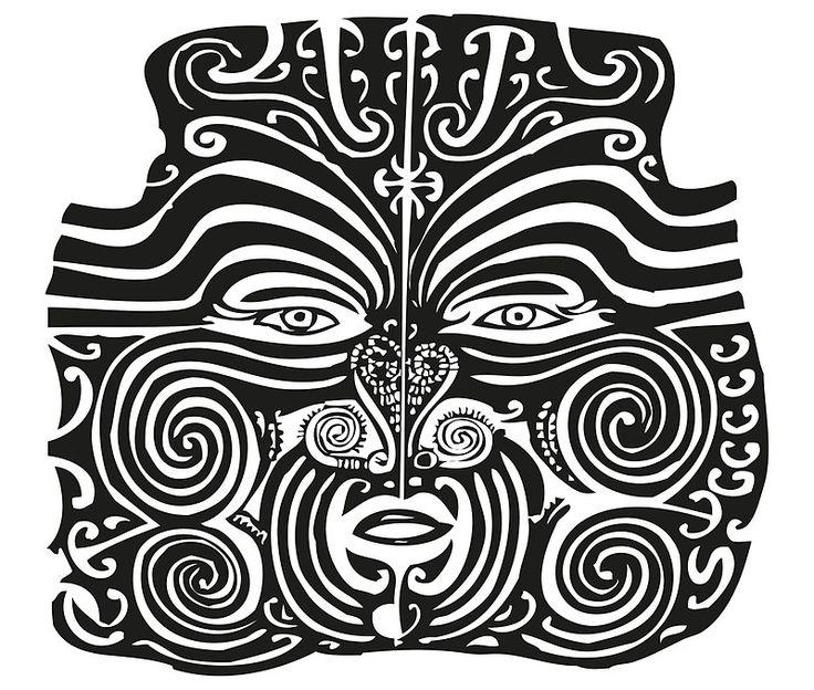Maori Moko   Tattoo   New Zealand   Black and White