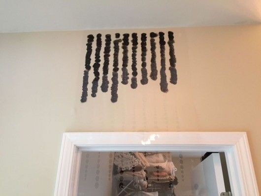 Cutting Edge Stencils Shares A DIY Stenciled Bathroom With An Ombre Effect  Using The Beads Allover Pattern.