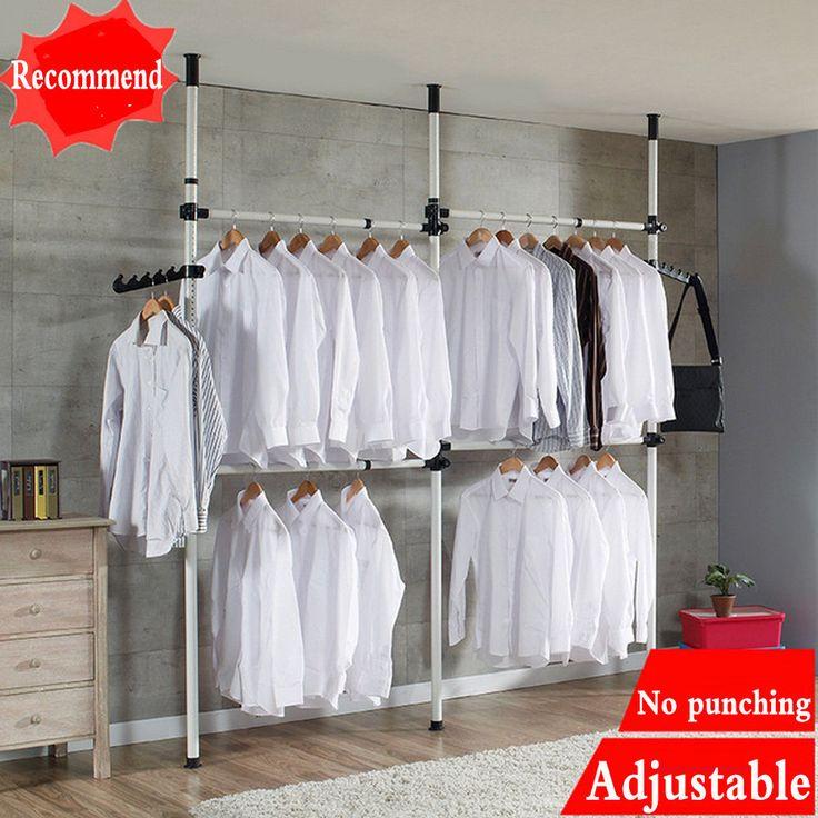 best 25 wardrobe pole ideas on pinterest hanging. Black Bedroom Furniture Sets. Home Design Ideas