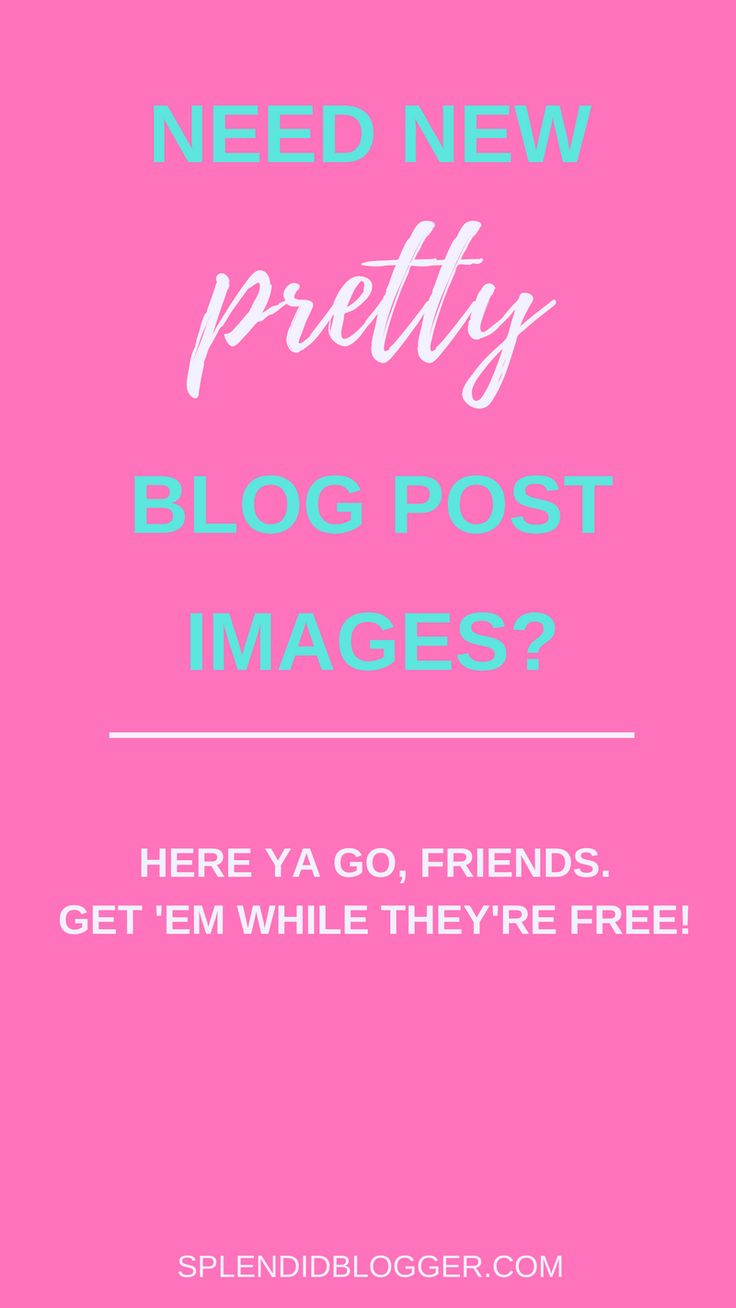 Looking for pretty girly images for your new blog post? Look no further my friend! I've got you covered with 10 beautiful sites full of gorgeous stock images for blogs. Click through to check out these free stock images for your blog posts today! | splendidblogger.com | blogging for beginners | blog tips | how to create a blog post | how to start a blog