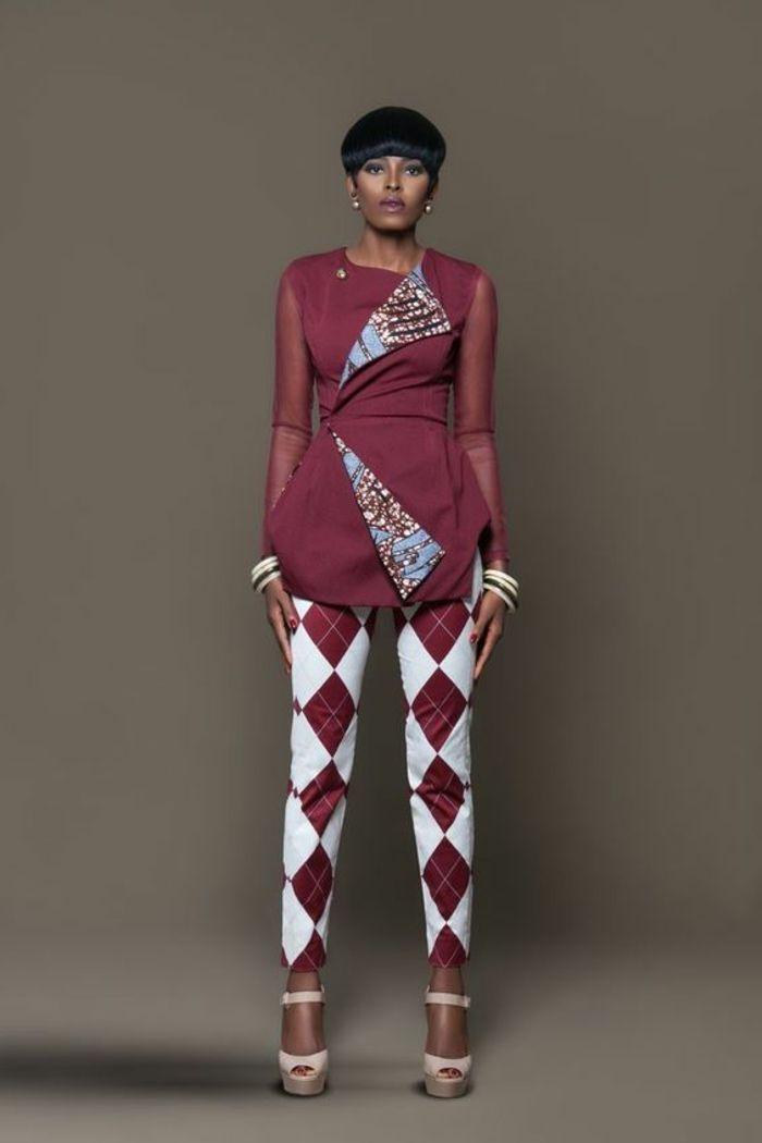 Model pagne africain modele robe en pagne