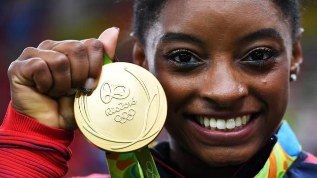 Teenage American gymnast Simone Biles could win five gold medals at her debut…