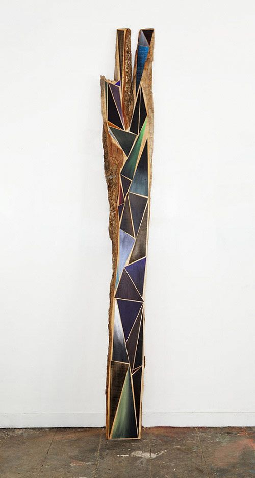 Paintings on wood by Jason Middlebrook.