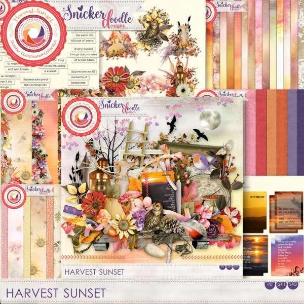 Digital Art :: Bundled Deals :: Harvest Sunset Collection