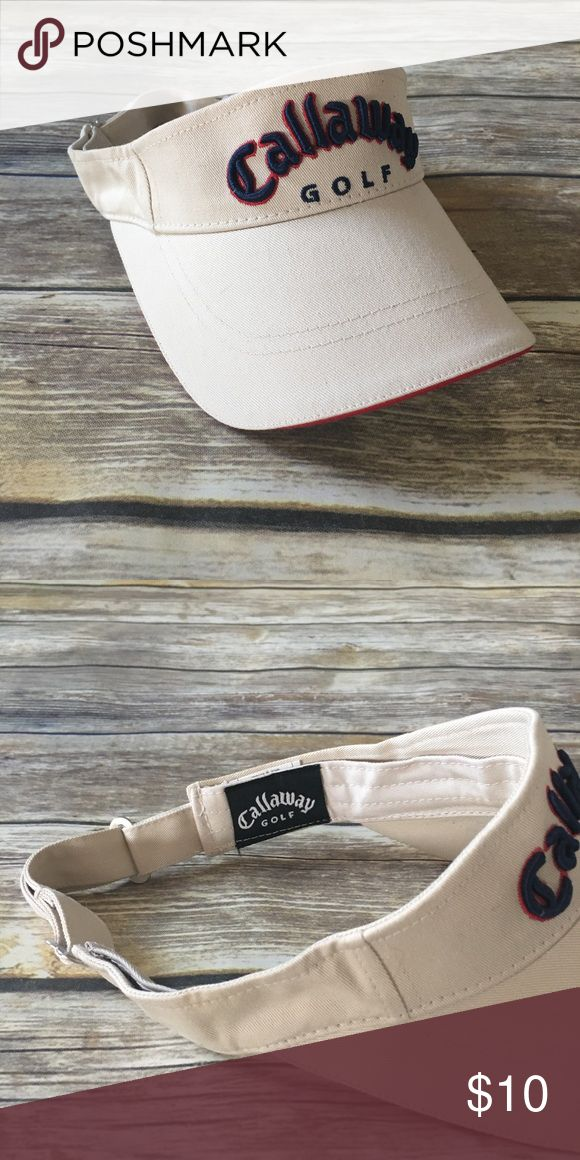 Callaway - Golf Visor (unisex) Callaway - Golf Visor (unisex). In fantastic preowned condition. Please be sure to check out all of my other men's items to bundle and save. Same day or next business day shipping is guaranteed. Reasonable offers will be considered. Callaway Accessories Hats