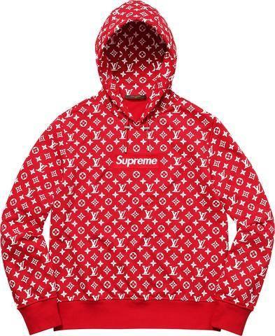 Supreme Hoodie - Louis Vuitton Box Logo Hoodie - Supreme Jacket