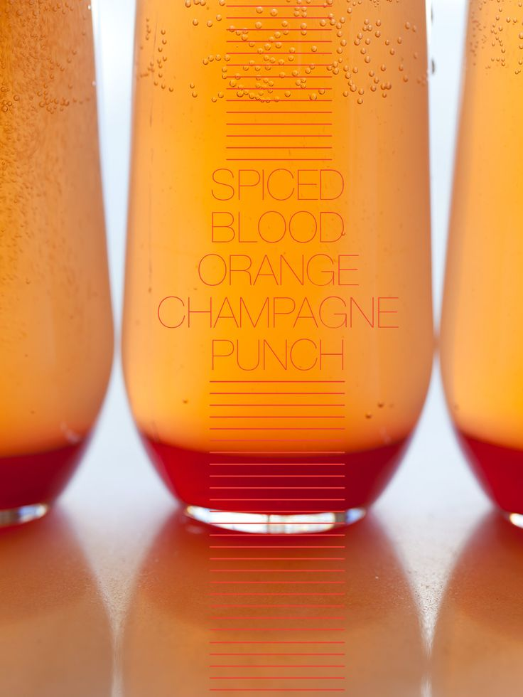 This Spiced Blood Orange Champagne Punch is a great morning cocktail recipe. It has blood orange juice, cinnamon, star anise, white wine, and champagne.