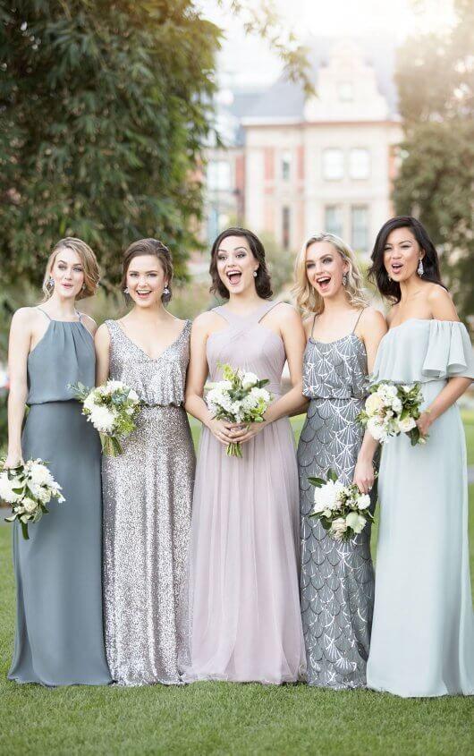 We Love The Mix And Match Trend For Bridesmaids Sorella Vita Dresses White Closet Bridal Tampa Fl