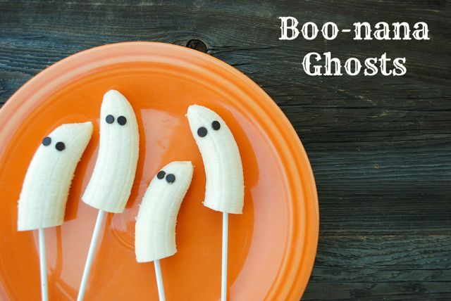 Boo-nana Ghosts: Healthy Treats for Classroom Halloween Parties