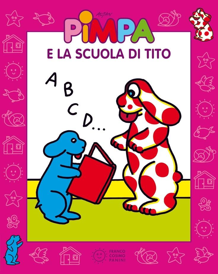 apprendre l'italien avec Pimpa et son cd, fastoche ! sur www.babelkids.com