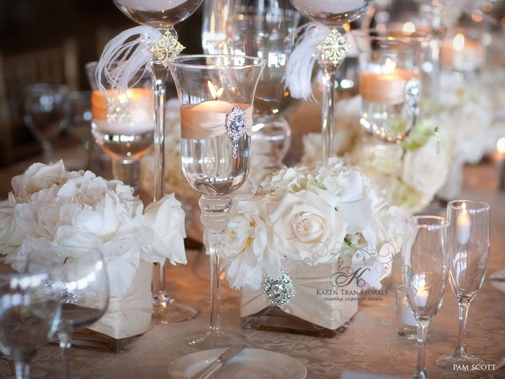 Best 25 bling wedding decorations ideas on pinterest bling bling wedding reception decorations wedding featured in ceremony magazine san diego junglespirit Images
