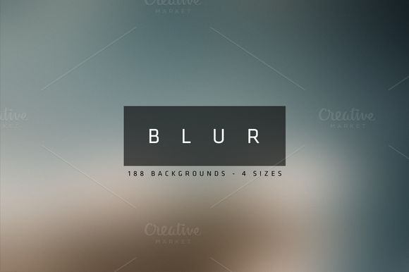 Blur - Blurred Backgrounds by beto on @creativemarket