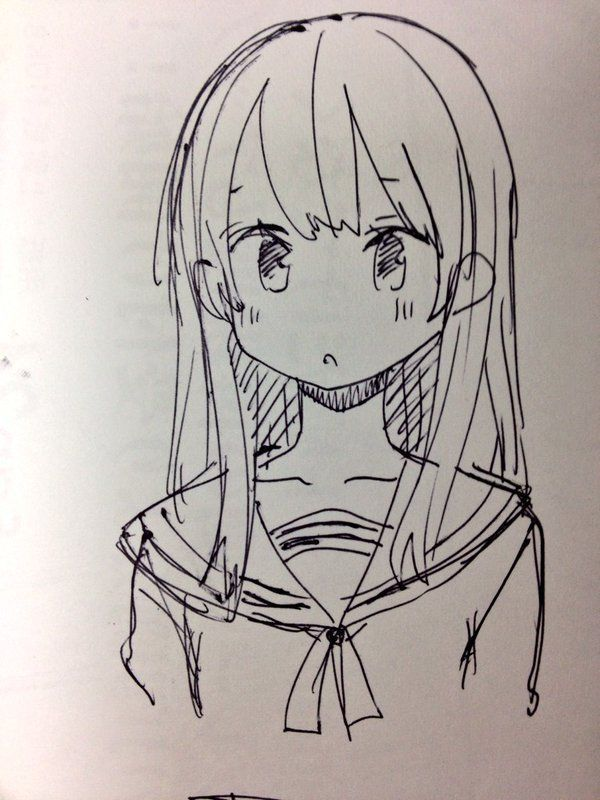Picture End result For Anime Drawing Concepts  Inciter À La Création …