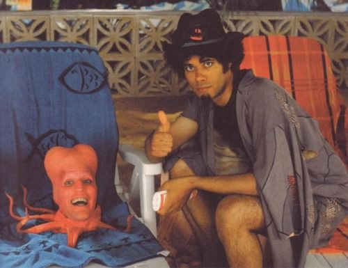Tony Harrison and Saboo, Noel Fielding and Richard Ayoade, The Mighty Boosh