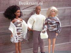Breipatroon Barbie complete sets