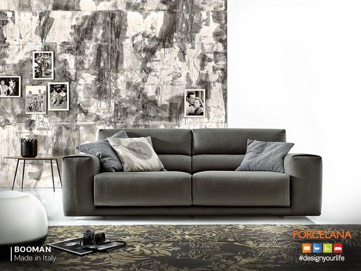 Ανανεώστε κινηματογραφικά το σπίτι σας με τον Ιταλικό καναπέ «Booman»! Ο απόλυτος συνδυασμός της υψηλής αισθητικής με την άνεση και τη λειτουργικότητα!
