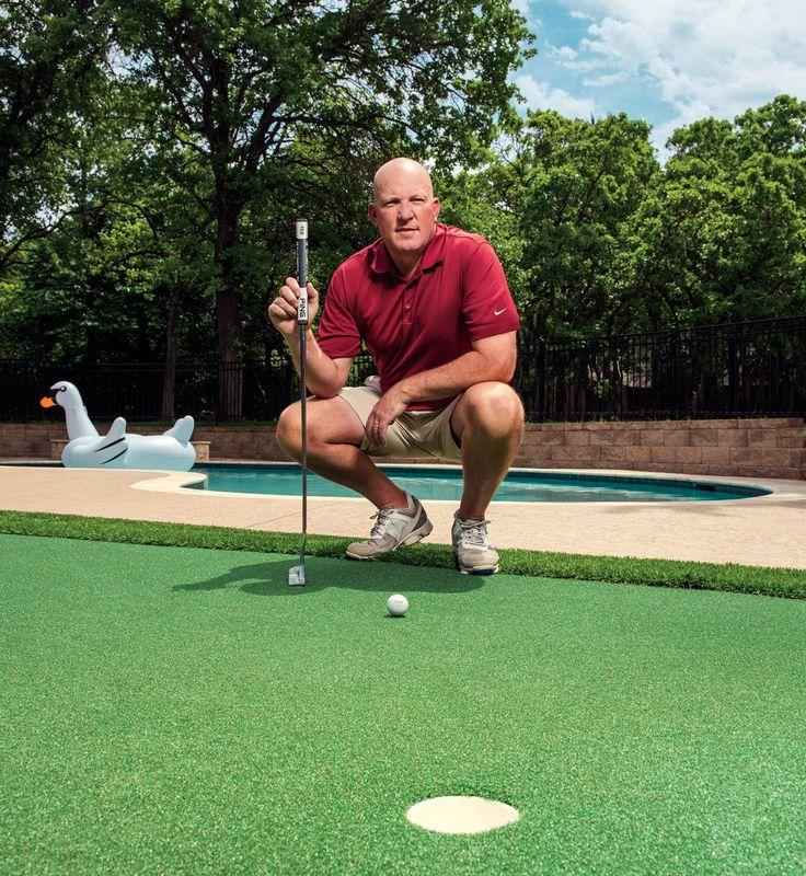 Do it yourself golf putting greens backyard putting