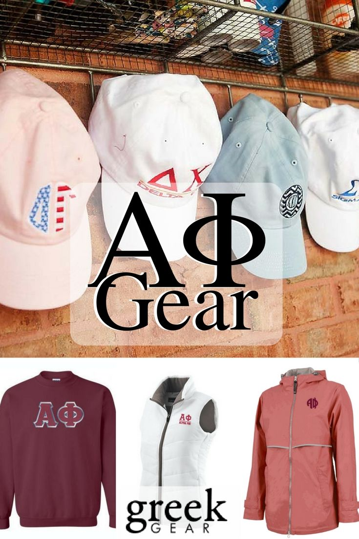 Greek Gear is the place to shop for Alpha Phi gear and gifts. Check out our t-shirts, long sleeve tees, hats, jackets, sweatshirts, accessories and more!