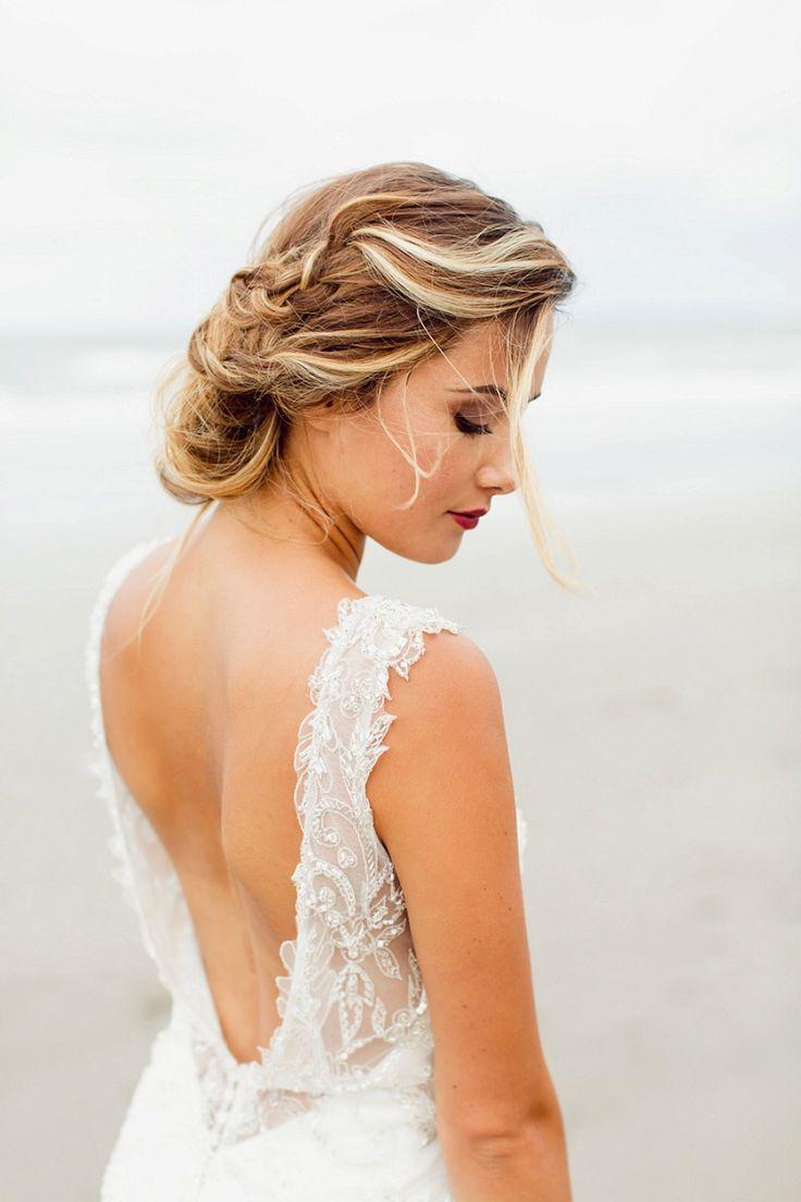 Chic Boho Beach Wedding Inspiration by Courtney Horwood Photography