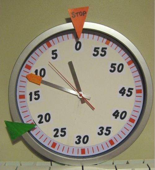 "Time timer ""maison"""