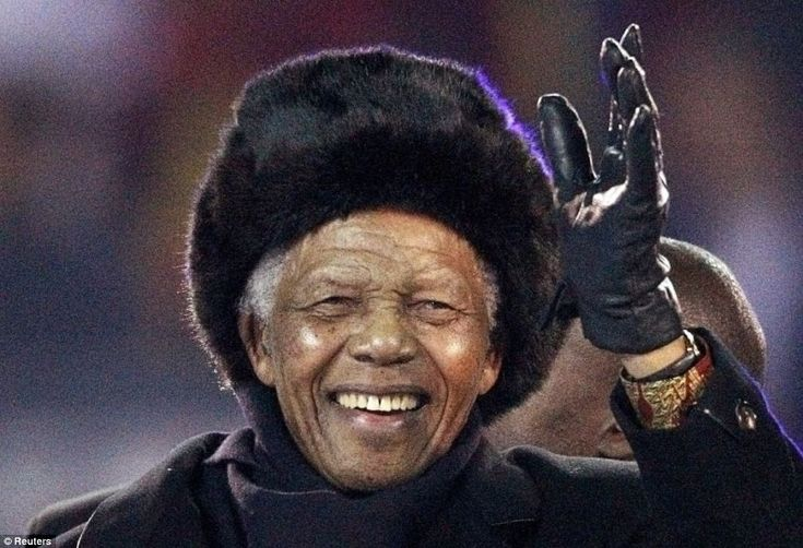 The death of former South African president Nelson Mandela was announced during the UK premiere of a film about his life. 5 December 2013.