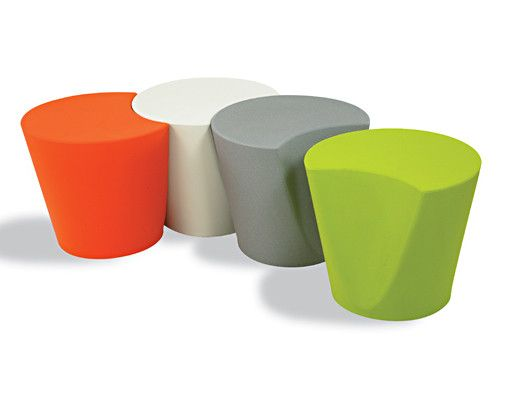 Apple stool: Contemporary polypropylene stools for indoor and outdoor use. http://www.montagenz.co.nz/products/cat/seating/cat1/stools/p/apple-stool-1/