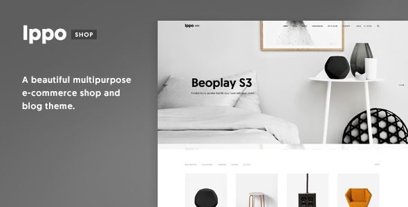 Ippo Shop - Minimal E-commerce WordPress Theme