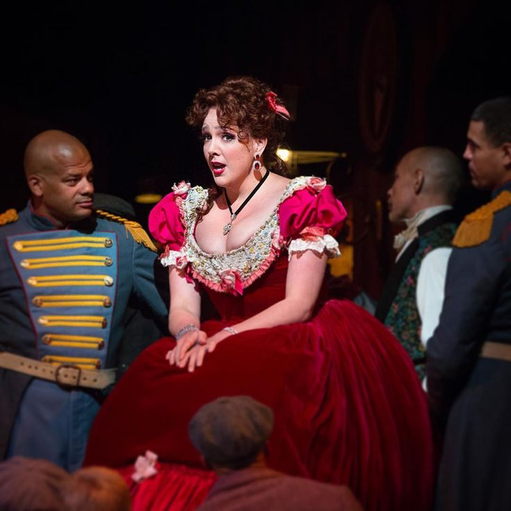 """💃Tickets to the 2017–18 season go on sale this Sunday, June 25! The beloved Zeffirelli production of Puccini's La Bohème returns to the Met Opera stage on October 2. Tickets start at just $25. Susanna Phillips returns to the role of Musetta, who sings the famous Act II aria """"Quando me'n vo."""" __________________________ #LaBoheme #Boheme #Puccini #Opera #QuandoMenVo #WhenIWalk #PeopleStopAndStare #FeelingMyself #GiveMeAttention #Moonstruck #MetOpera #MetropolitanOpera #Tickets"""