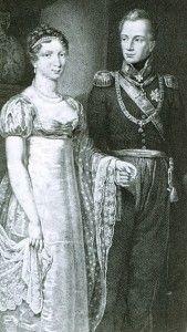 Op 21 februari 1816 trouwen kroonprins Willem van Oranje-Nassau, de latere koning Willem II, en Anna Paulowna met elkaar. Anna Paulowna was de dochter van de Tsaar van Rusland. Het huwelijk vond plaats in het Rozenpaviljoen. Deze bevind zich in de paleistuin van het Pavlovsk-paleis nabij Sint-Petersburg.