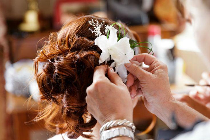 Décoration coiffure pour mariage