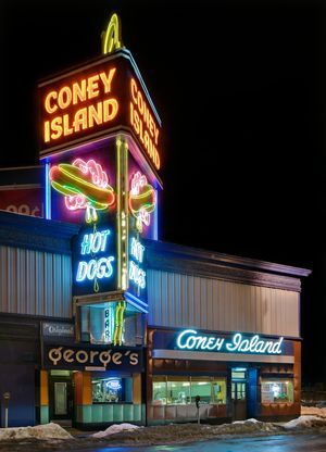 Coney Island Hot Dogs Worcester Ma