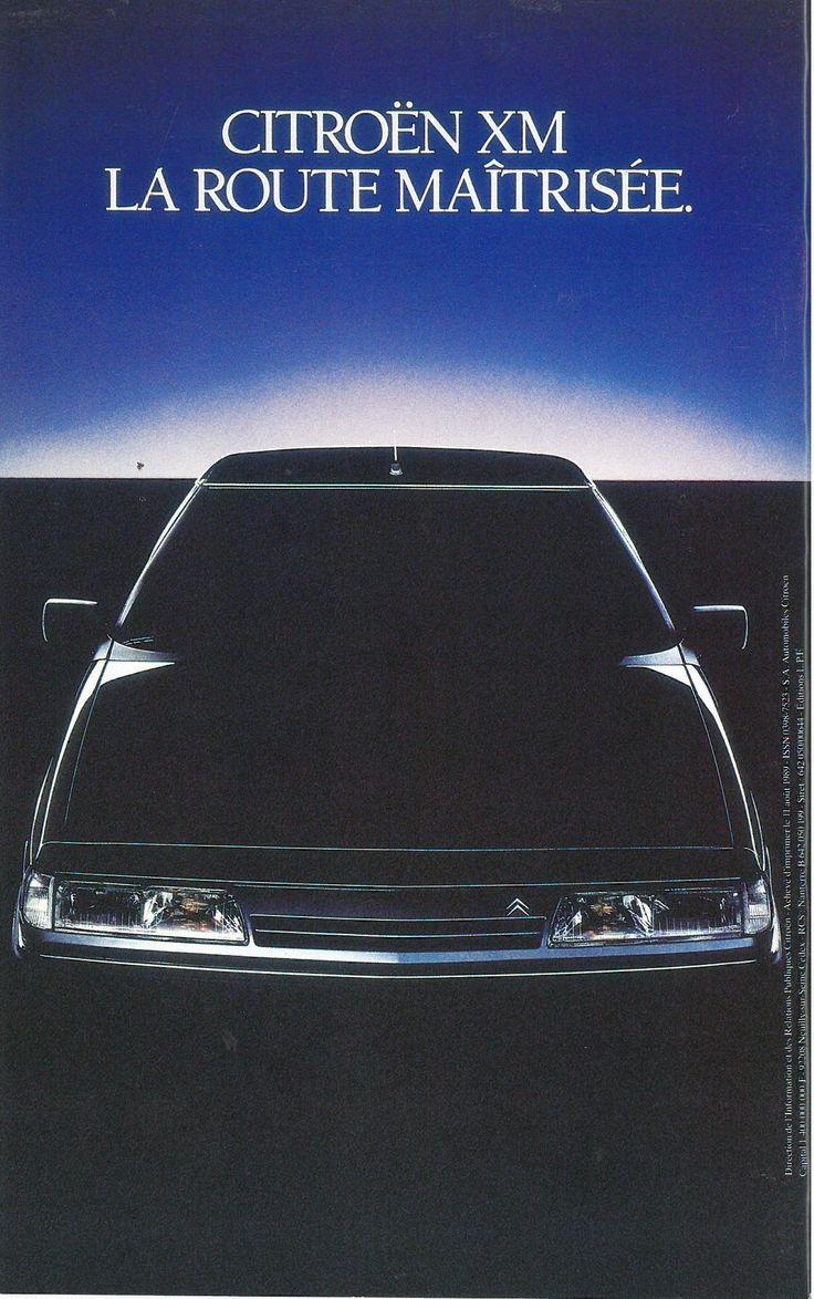 Citroën XM - Pictures, details and equipment - Citroën Origins