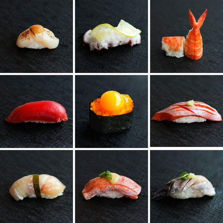 Sushi omakase from The RawBar at The Lobby Lounge