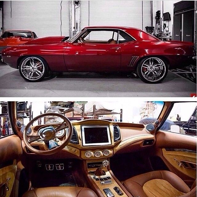 69 Camaro Custom Interior Its Odd Looking Eye Candy AtlantaGA
