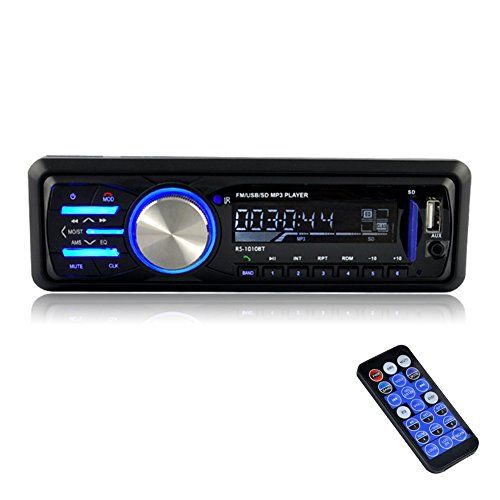 BESTREE 12V Bluetooth In-Dash Car Stereo receiver FM Radio MP3 Audio Player (RS-1010BT) - http://www.caraccessoriesonlinemarket.com/bestree-12v-bluetooth-in-dash-car-stereo-receiver-fm-radio-mp3-audio-player-rs-1010bt/  #AUDIO, #BESTREE, #Bluetooth, #InDash, #Player, #Radio, #Receiver, #RS1010BT, #Stereo #Car-Stereos, #Electronics