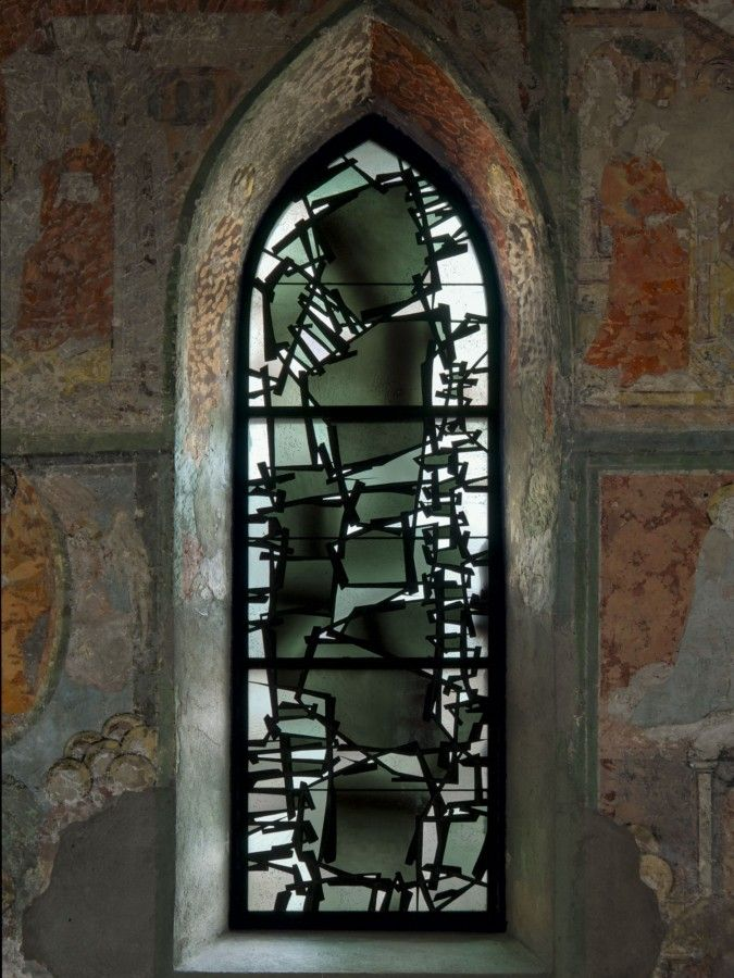 stained glass from Germany. Beautiful.