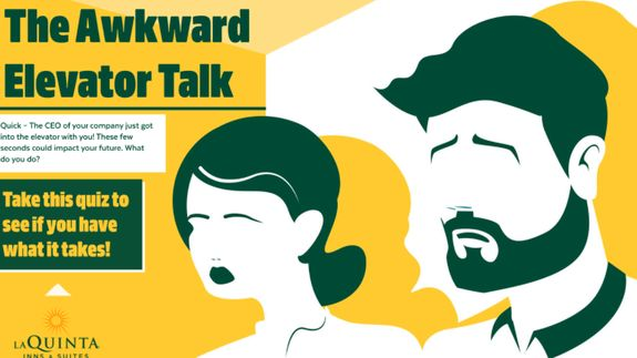 Elevator Talk 101: How ready are you for 32 stories of small talk?