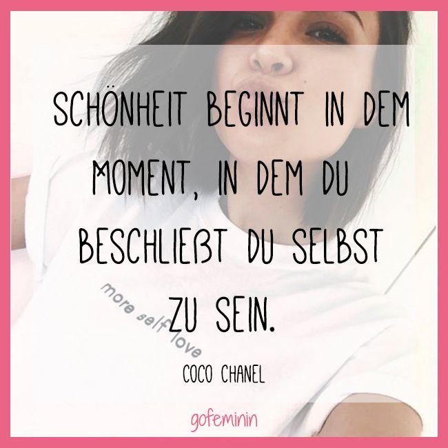 Wahre Schönheit - Zitat von Coco Chanel