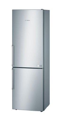 Bosch KGE36AL40 Kühlgefrierkombination SmartCool / A+++ / Kühlen: 211 L / Gefrieren: 92 L / Edelstahl-Optik / SuperGefrieren / ChillerBox
