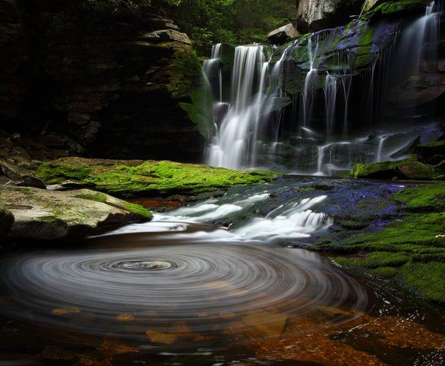Elakala Waterfalls, Blackwater Falls State Park, West Virginia