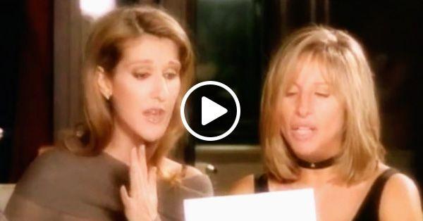 Селин Дион и Барбра Стрейзанд исполнили эту песню 20 лет назад