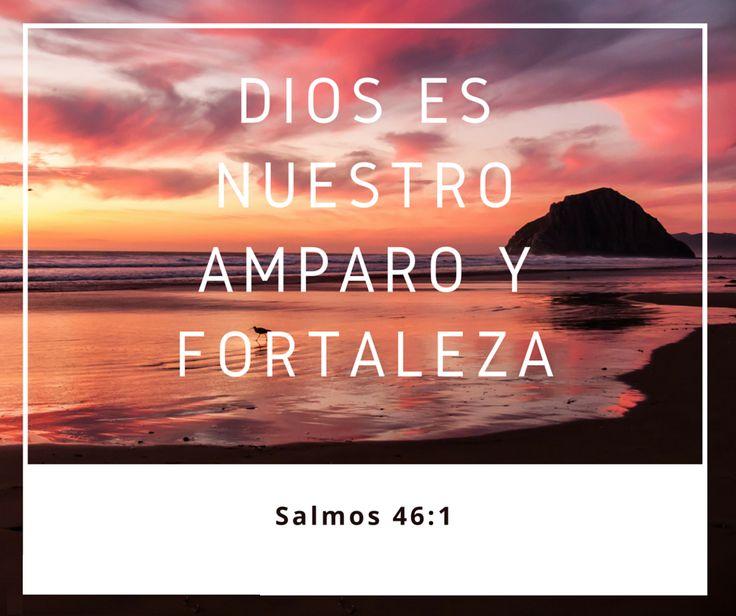 Dios es nuestro amparo y fortaleza. Sal 46.1