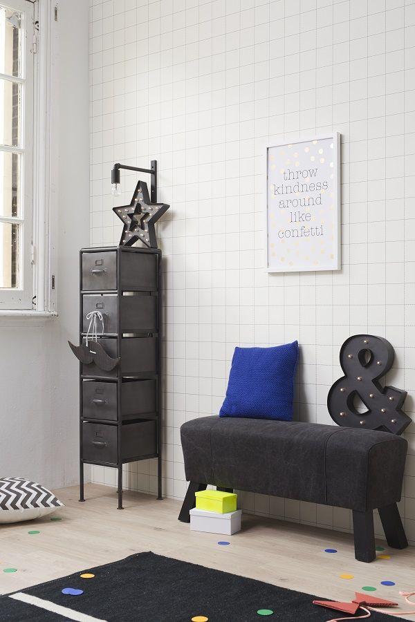 KARWEI | Stalen meubelen zorgen voor een stoere look. #woonwekenbijkarwei