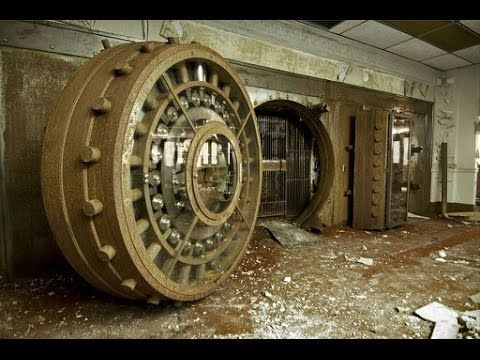 Abandoned Federal Gold Exchange Bank Found Vault Part